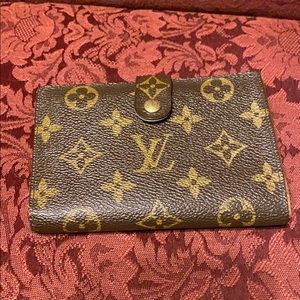 Vintage Louis Vuitton French snap wallet